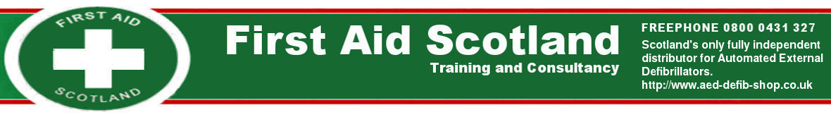 First Aid Scotland Ltd. The genuine website for the First Aid Scotland